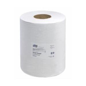 """Papier à mains Centrifuge Tork Blanc 9"""" 6rlx x 590' (121201)(R)"""