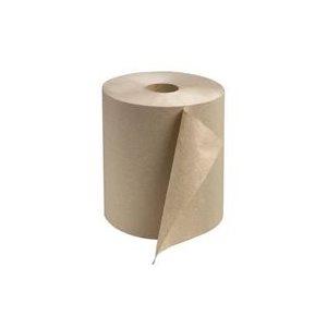 """Papier à mains Classique Brun 8"""" 6rlx x 800' (#6810)(60)(ABP)"""