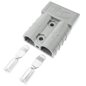 Connecteurs (pqt / 2) gris pour Batterie RB50A (J)
