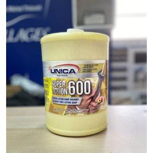 604 savon à main abrasif jaune 4 L. JUG (U)