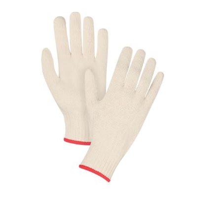 Gants de coton et polyester petit / dz (MC)