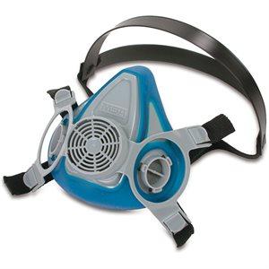 Demi masque bleu respirateur MSA (S)