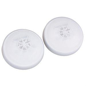 2 Filtre et coquille N99 pour Cartouche NORTH 7531N99