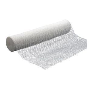 Bandage de gaze rouleau 4'' x 10 verges (S)