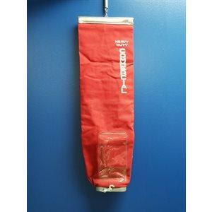 Sac en tissus permanent Rouge à Fermeture Éclair STE400