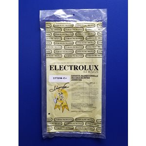 Sacs en papier 12X26JV style U pour aspirateur Electrolux pqt / 12 (J)