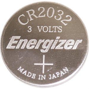 Batterie CR2032 plate 3 volt lithium Energizer